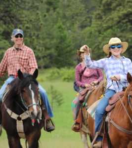 Fort Collins Colorado rustic wedding packages with horses