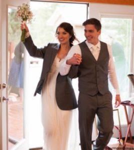 Micro-weddings outdoors Colorado