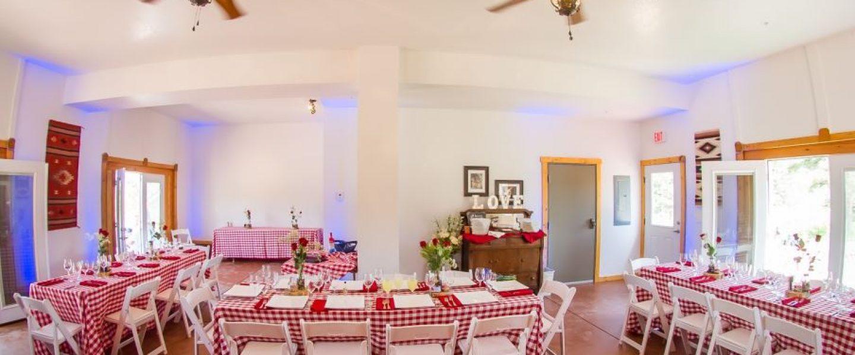 Colorado small wedding reception ideas